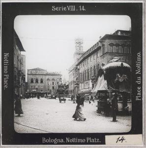 Bologna, Nottimo-Platz, Piazza Nettuno